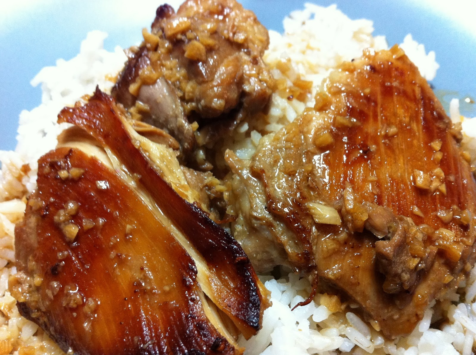 Cooking with SAHD: Filipino Adobo Chicken