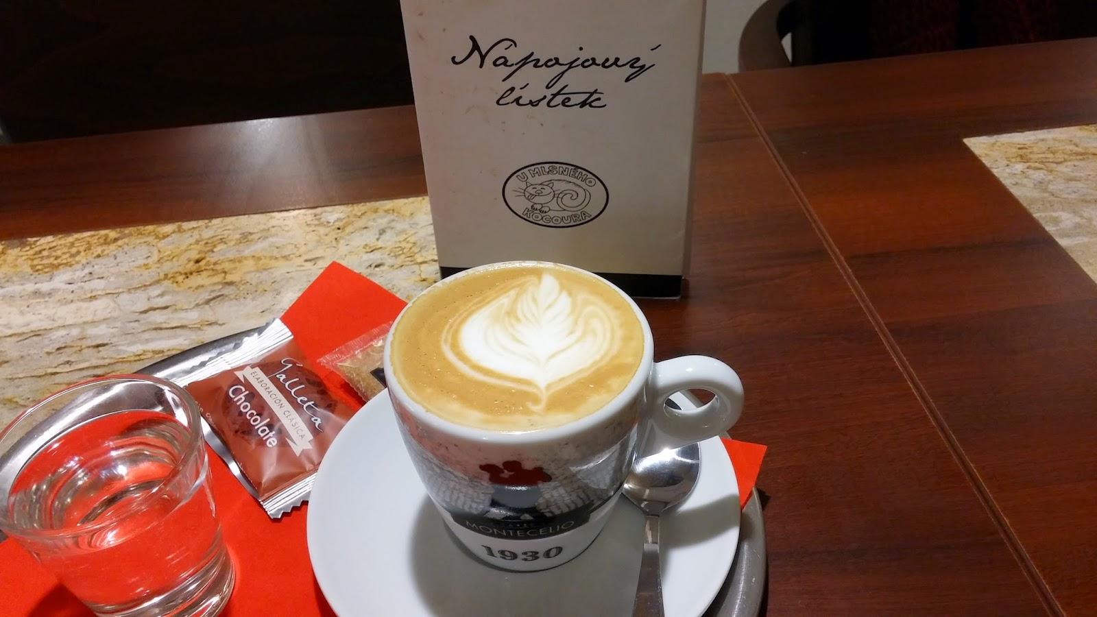 Cappuccino U Mlsného kocoura