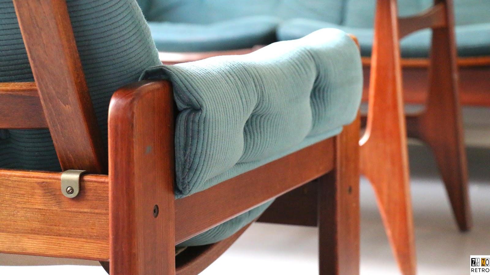 Retro jaren 60 70 pastoe swedese bankstel van for Jaren 60 meubelen