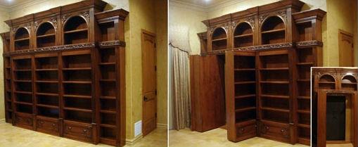 ... … pour créer une cache ou une porte vers une pièce cachée