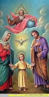 Historia zbawienia jako objawienie Trójcy Świętej.