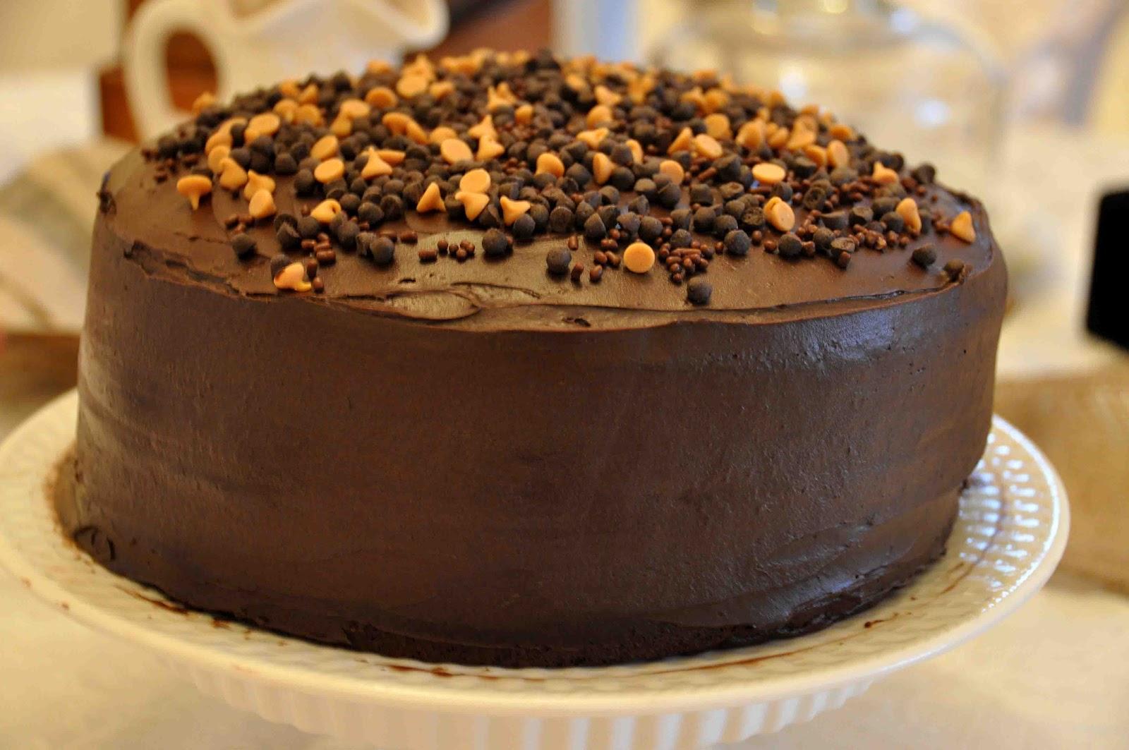 something simple...something me: Homemade Peanut Butter Cake Filling