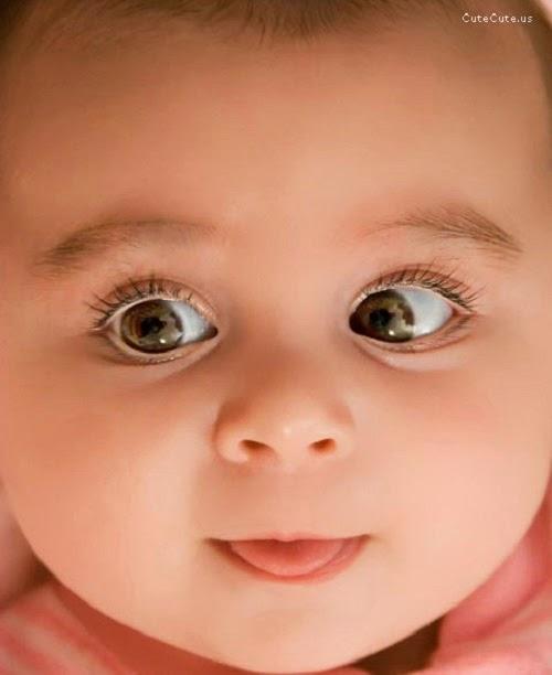 Photo visage bébé