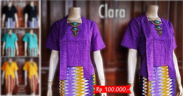 Kebaya Batik Modern Clara
