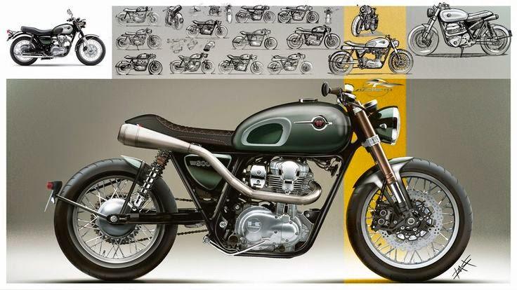 Kawasaki W800 Racer By Lazareth