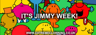 Week with Jimmy 29th July – 5th August 2012