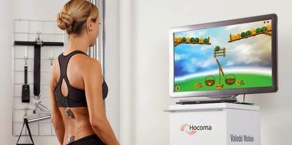 Il sistema Valedo Therapy per la schiena. foto: rollingball.ie