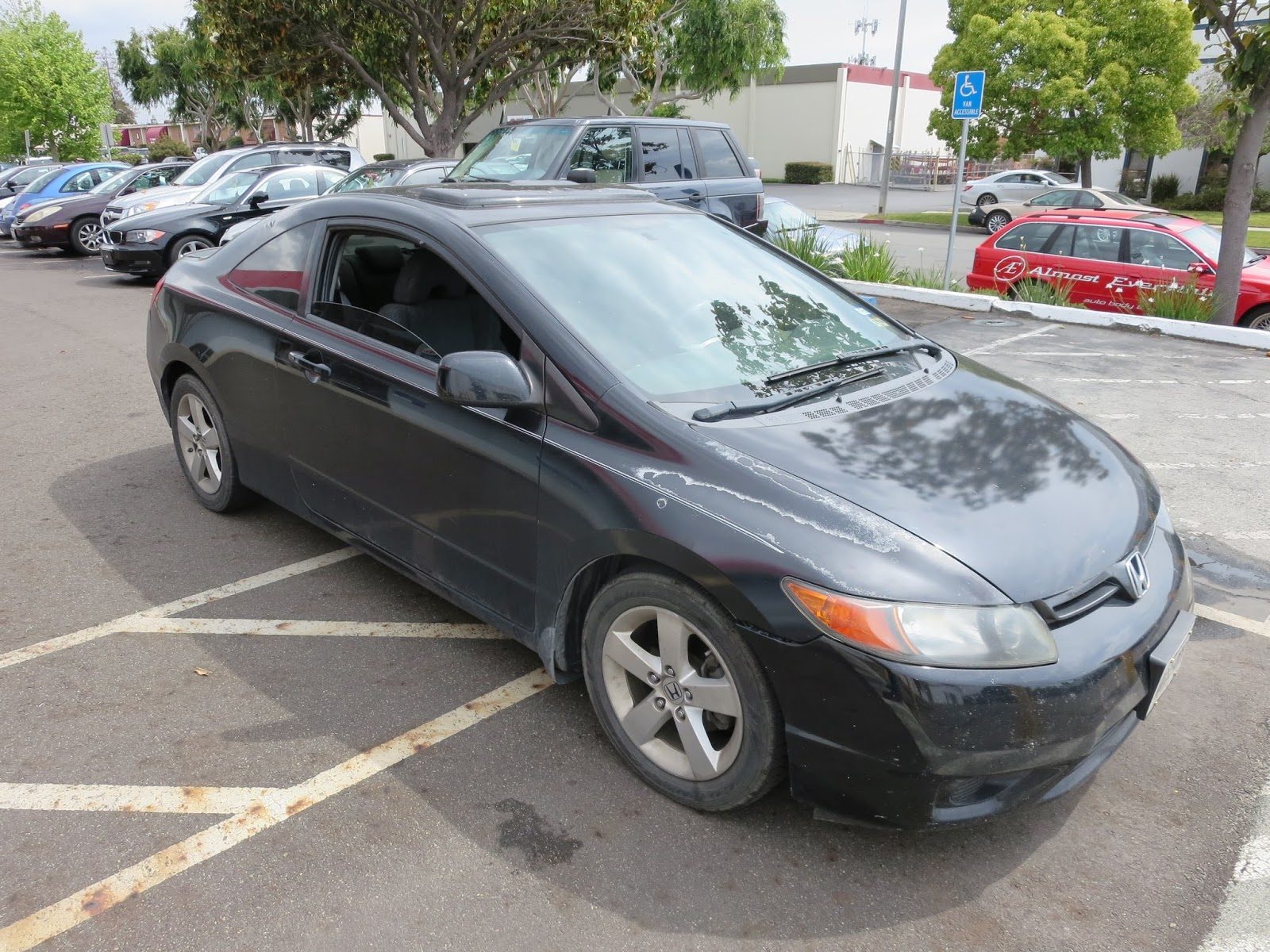 Almost everything car paint auto body collision repair for Honda fremont service
