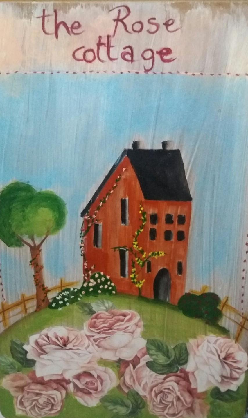 Our rose cottage garden