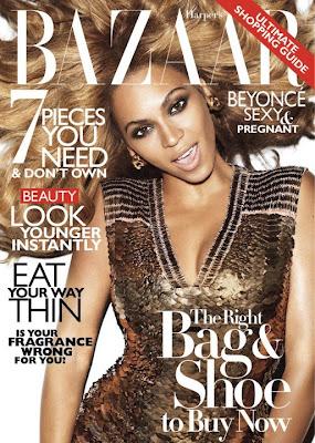 Beyoncé en couv' d'Harper Bazaar par Terry Richardson
