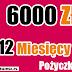 Najlepsze pożyczki pozabankowe przez internet. Pożyczka TAKTO 6000 zł na 12 miesięcy.