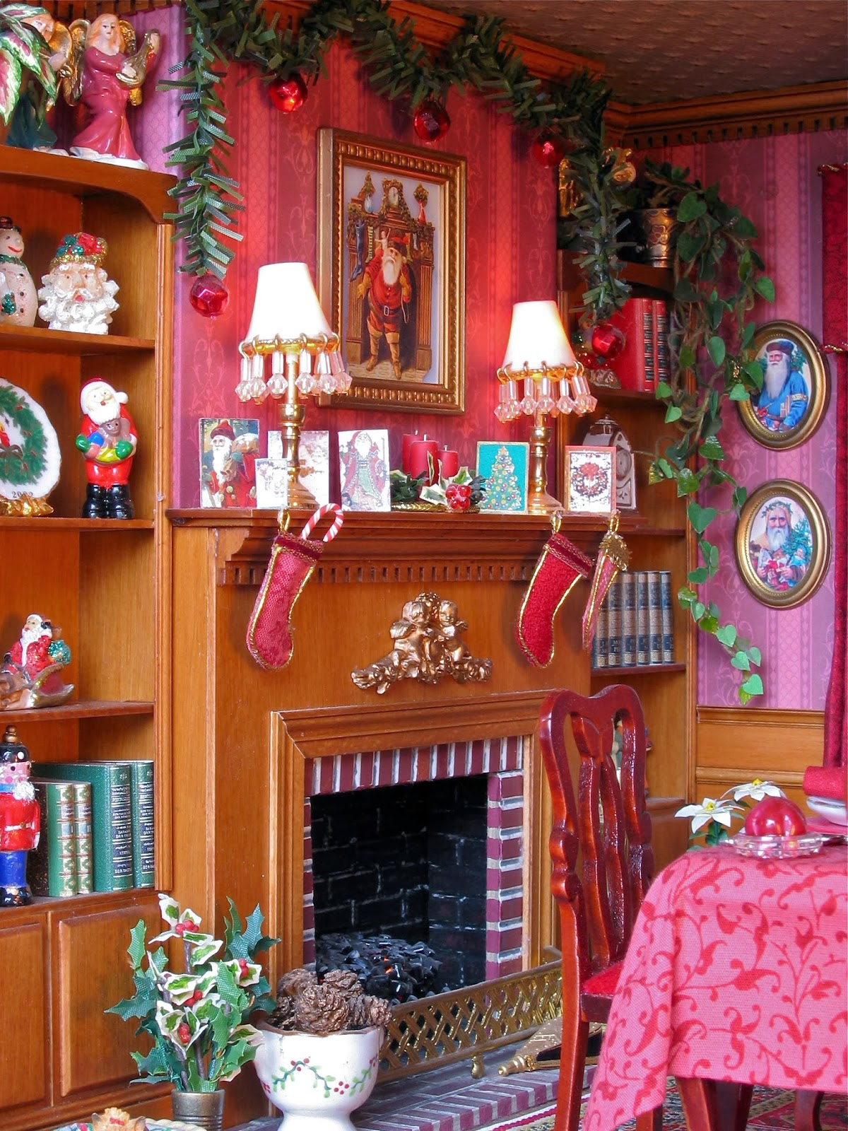 dollhouse mantel