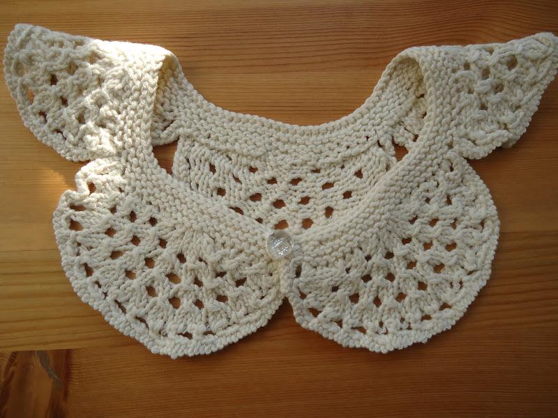Knitted Collar Pattern : Emilia Bird: Collared