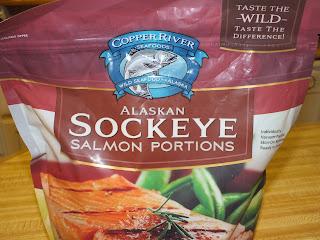 Copper River Wild Alaskan Salmon