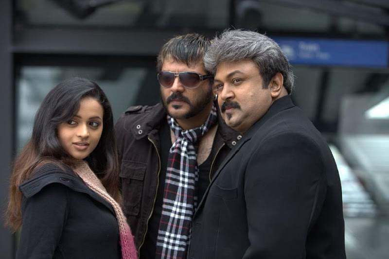 Ajith In Soolam Upcoming Telugu Movie Stills AjithSameeraBhavana In Soolam Stills gallery