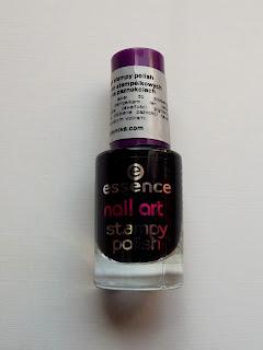 Essence Nail Art Stampy Polish nr 002 - Stamp Me! Black