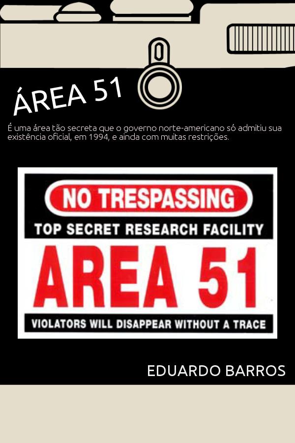 """E-book '' Área 51- Top Secret"""""""
