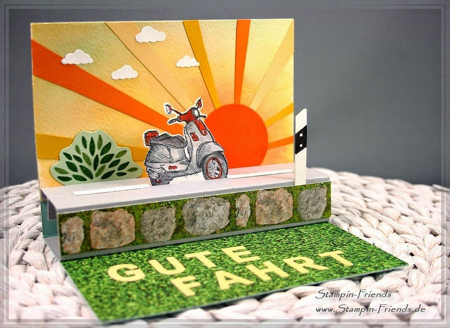 Stampin Up Glückwunschkarte