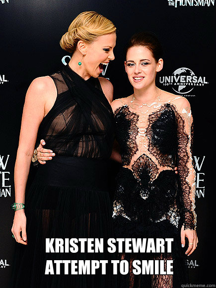 When Kristen Stewart Attempted To Smile!