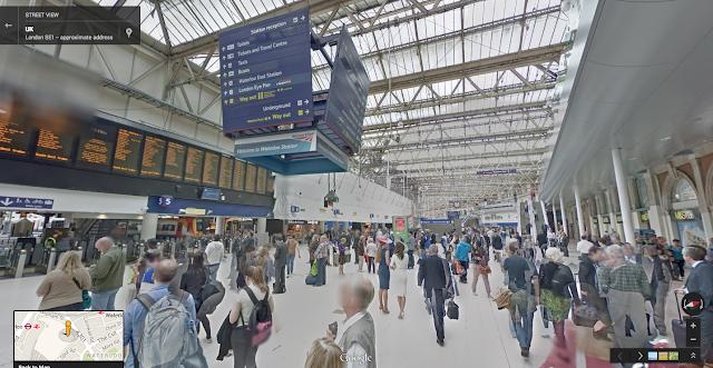 英國倫敦滑鐵盧車站(Waterloo Station)
