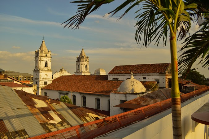 The rooftops of Casco Viejo Panama