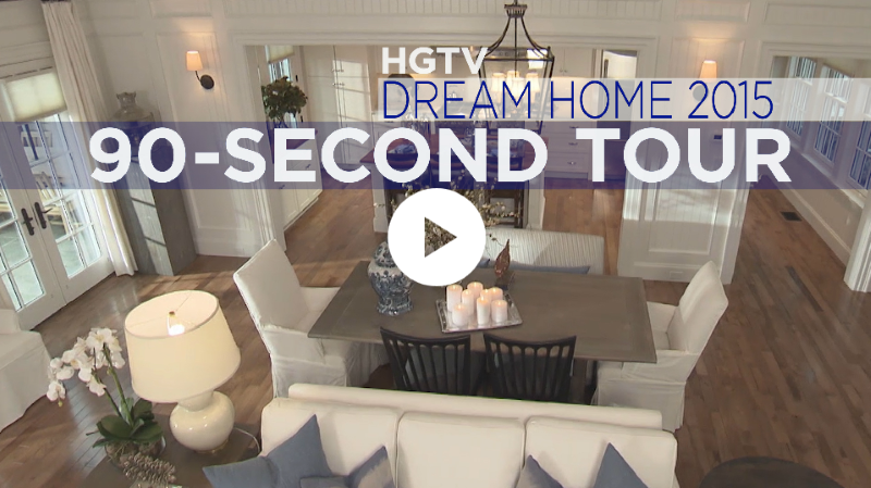 hgtv dream home 90 second home tour - Hgtv House Giveaway
