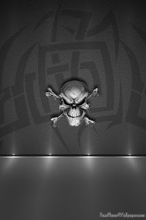 Copy of Silver Skull iPhone 4 Wallpapers