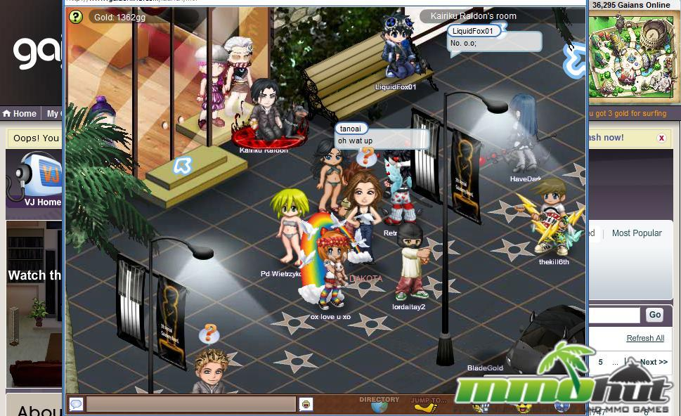 My J House Gaia Online Game A Very Fun Online Game To Play