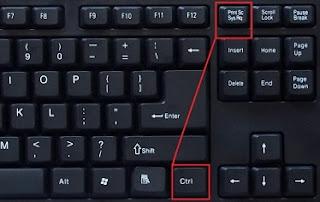 Cara Mengambil Gambar Tampilan Layar Laptop