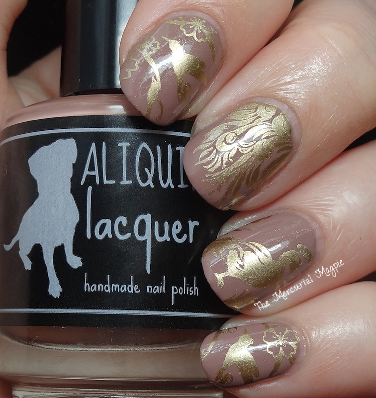 Aliquid Lacquer Dear Yoko Swatches & Stamping