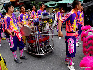 FIESTON CHINO EN HONOR A BUDA, BANGKOK. TAILANDIA