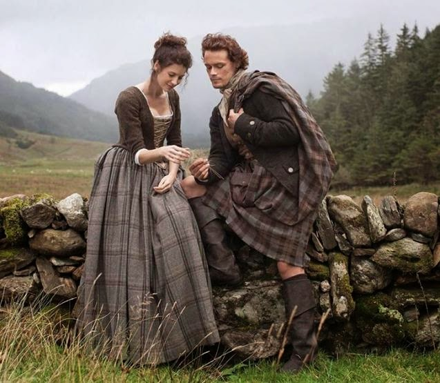 Staircase Wit Outlander Season 1 Episode 2 Recap