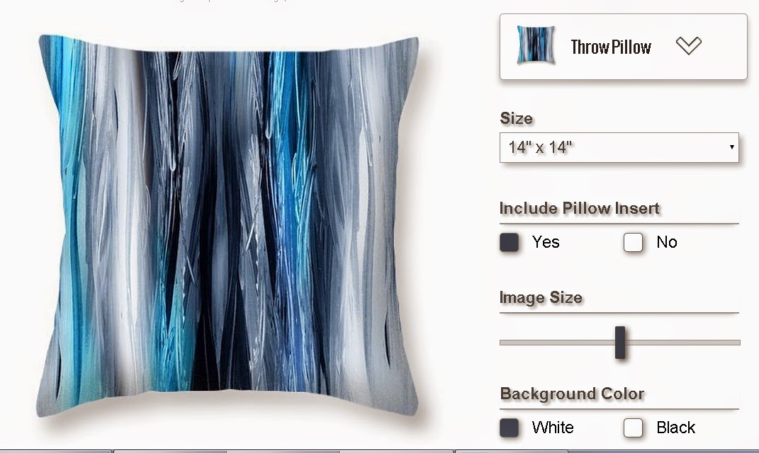 art to pillows