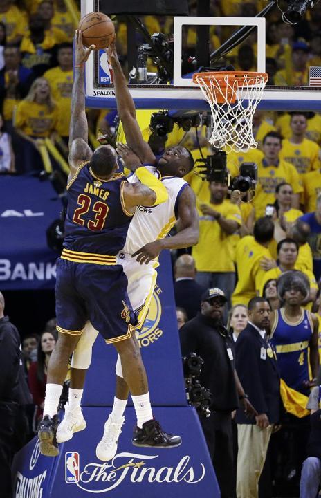 theKONGBLOG™: Top 5 NBA Plays Of The Finals: June 7th, 2015
