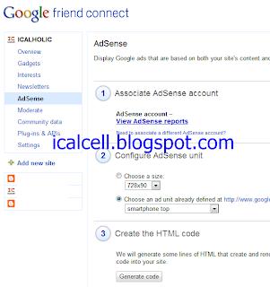 Trik Muncul Iklan Google Adsense Di blog indonesia menggunakan GFC
