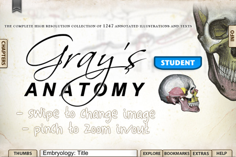 Grays Anatomy Student Edition IPA 1.3» Android apk app iPhone ...