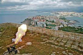 La tradicional salva volverá a escucharse en Ceuta desde la fortaleza de El Hacho