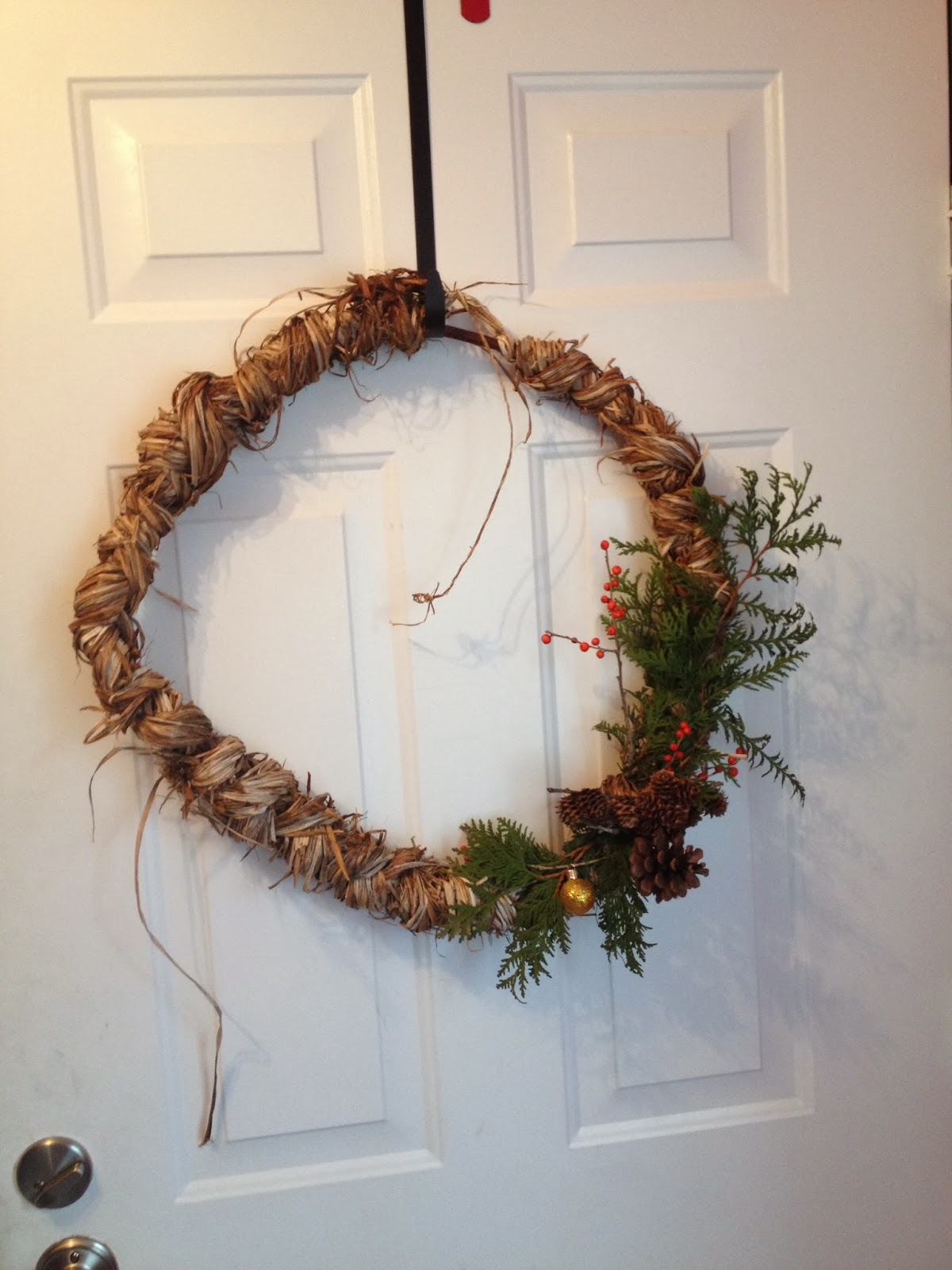 1970 Dogwood Street Make Your Own Christmas Wreath This Year