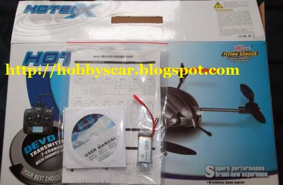 instruction manual 523 quad rotor