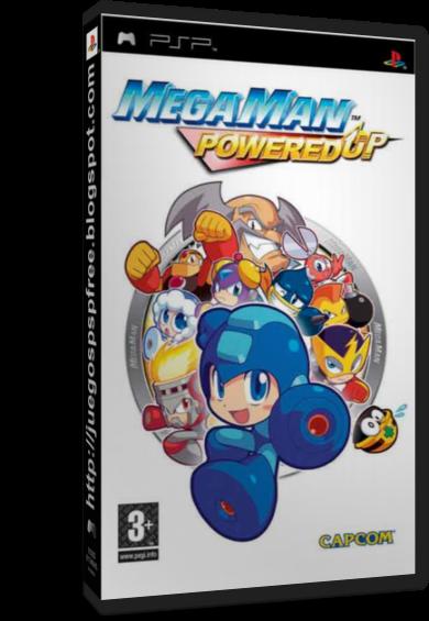 Megaman Powered Up  Full   Espa  Ol   PSP   FS