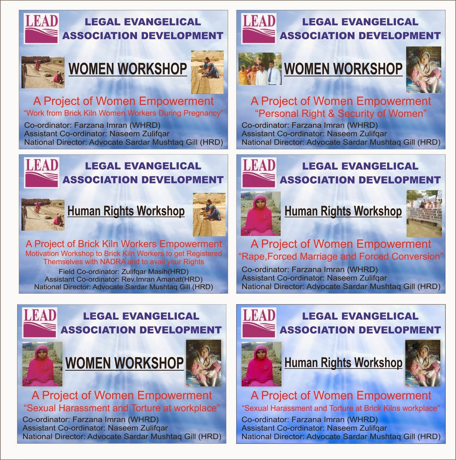 LEAD Women Empowerment Project 2014-2016