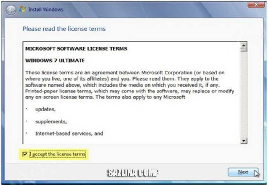 Cara Instalasi Windows 7