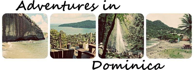Kim & Chris in Dominica