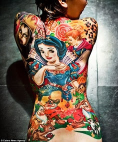 Disney Snow White Tattoo