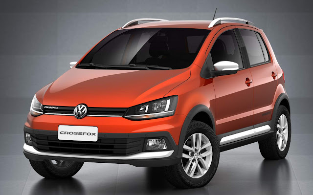 Novo VW CrossFox 2016