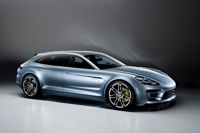Porsche Sport Turismo concept and Design DNA side view