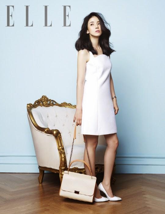 Lee Bo Young Elle Magazine June 2014