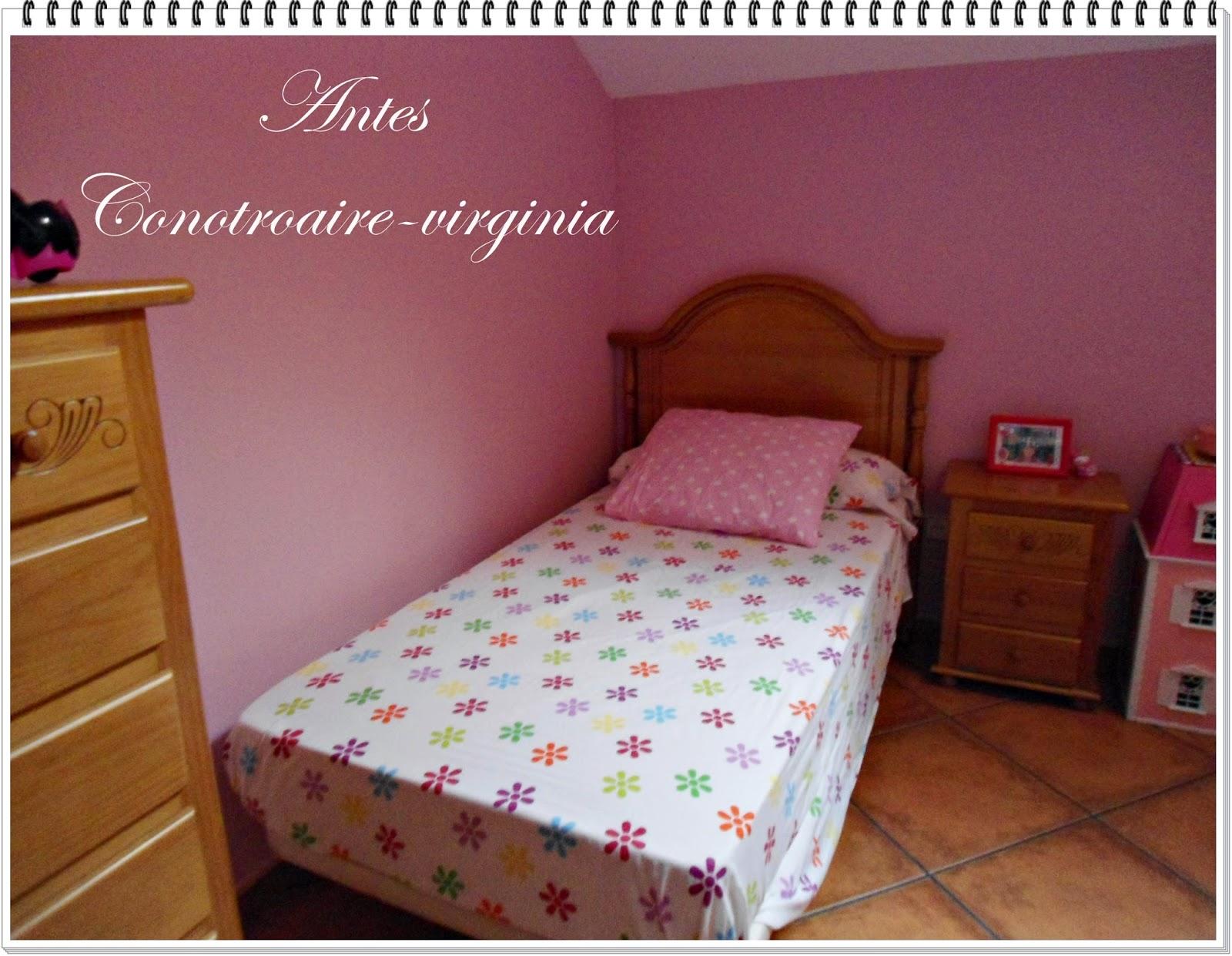 Con otro aire la habitaci n de mi peque con un toque - Habitacion rosa palo ...
