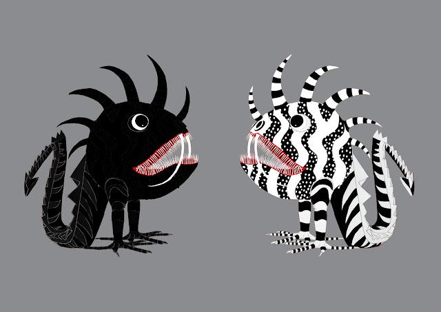 dos tarascas, Fera Cuca, monstruos