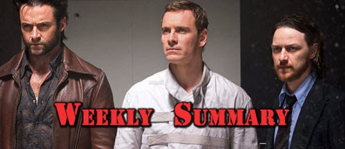 weekly summary x-men days of future past